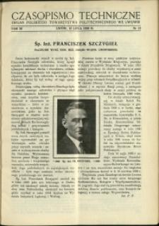 Czasopismo Techniczne : 1938 : nr 13